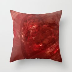 Embers of Love Throw Pillow