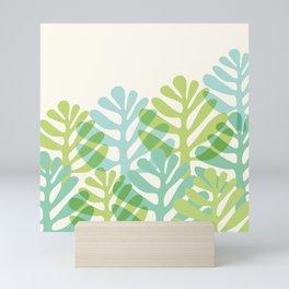 Pastel Desert Garden Mini Art Print