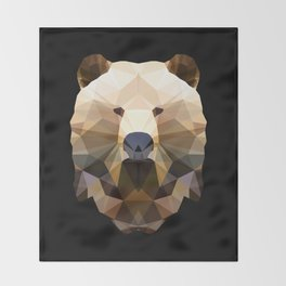 Polygon Heroes - The Bear Throw Blanket
