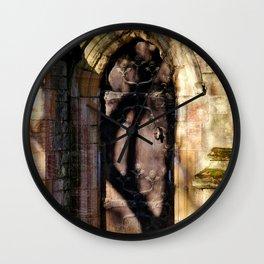 West door Wall Clock