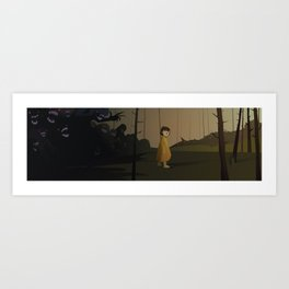 Forest shade Art Print