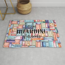 It's Not Hoarding if Its Books Rug