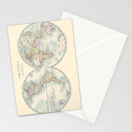 Hemispheres Stationery Cards