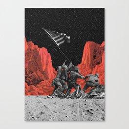 The mars war Canvas Print