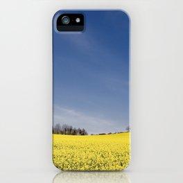 Brest Fields iPhone Case
