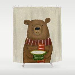 breakfast for bears Shower Curtain