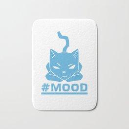 #MOOD Cat Blue Bath Mat