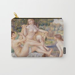 Les Grandes Baigneuses (The Large Bathers) by Auguste Renoir Carry-All Pouch