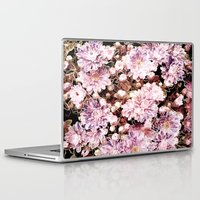 rose gold Laptop & iPad Skins featuring Rose And Gold Floral by J&C Creations