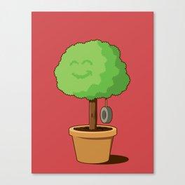 Playful plant Canvas Print