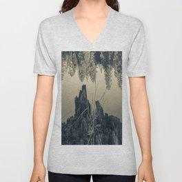 Pine Trees 4 Unisex V-Neck