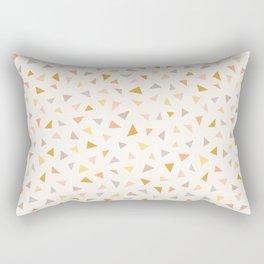 Triangle Confetti Spring Rectangular Pillow