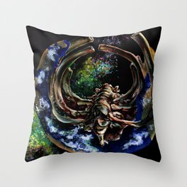 Ecological Depletion  Throw Pillow