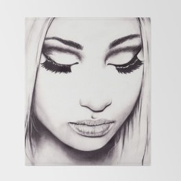 Nicki  Throw Blanket