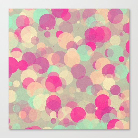 Colorful Bubbles 2 Canvas Print