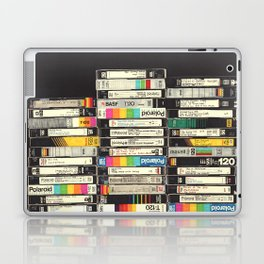 VHS Stack Laptop & iPad Skin