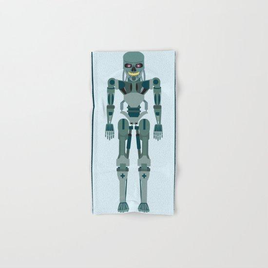 Terminator Vector Hand & Bath Towel