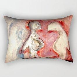A Body Tragic. Rectangular Pillow