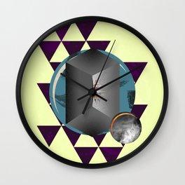 The Fold Wall Clock