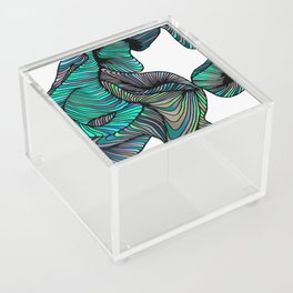 abstract digital 2.0 Acrylic Box