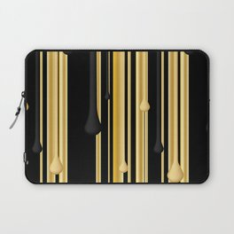 DRIPPING IN GOLD Laptop Sleeve