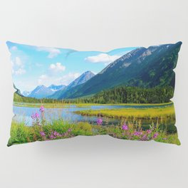 God's Country - Summer in Alaska Pillow Sham