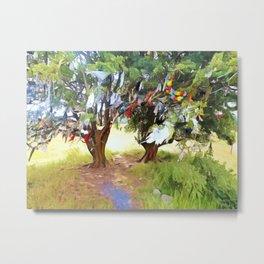 Wishing Tree on Tara Hill Metal Print