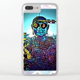 Right place Right time Clear iPhone Case