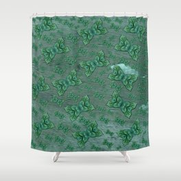 Heaven and Ocean and some clouds Involved. Shower Curtain