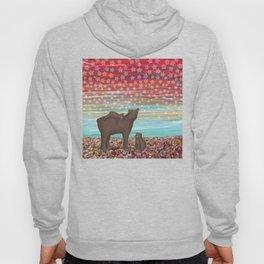 brown bears and stars Hoody