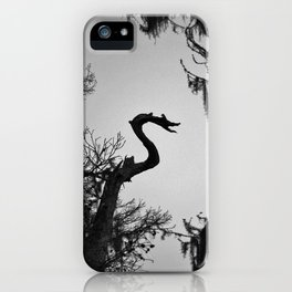 Dragon Shaped Tree iPhone Case