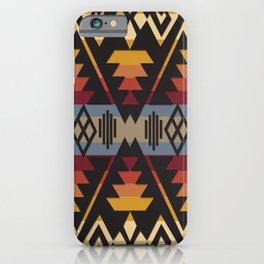 American Native Pattern No. 109 iPhone Case