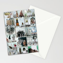 100 Days of Bunnies Poster  Stationery Cards
