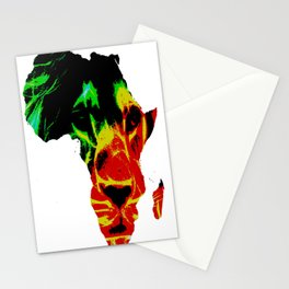 Lion Heart Africa Stationery Cards