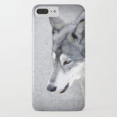 wolf iPhone 7 Plus Slim Case