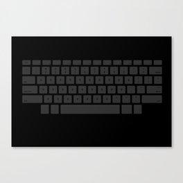 Captain's Keyboard Canvas Print