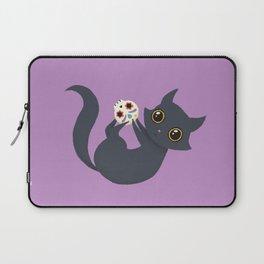 Kitty sugar skull Laptop Sleeve