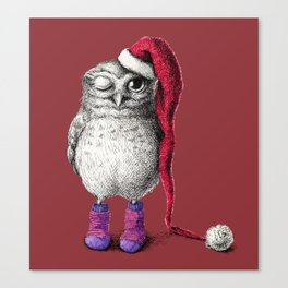 Happy Hoo Hoo Hoo To You Canvas Print