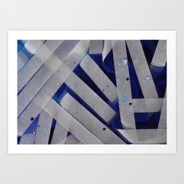 water stripes Art Print
