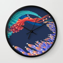 Dancing monster Wall Clock