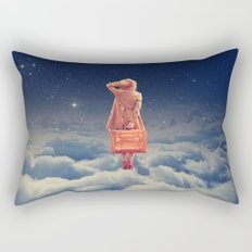Galactic Traveller Rectangular Pillow