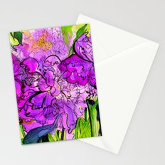 Summer Peonies Stationery Cards