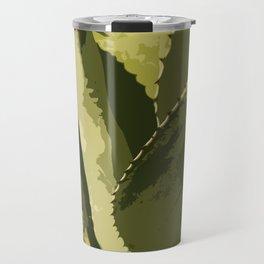 Agave Abstract Travel Mug