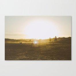Caballeros Canvas Print