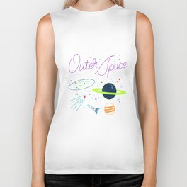 Outer Space! Biker Tank