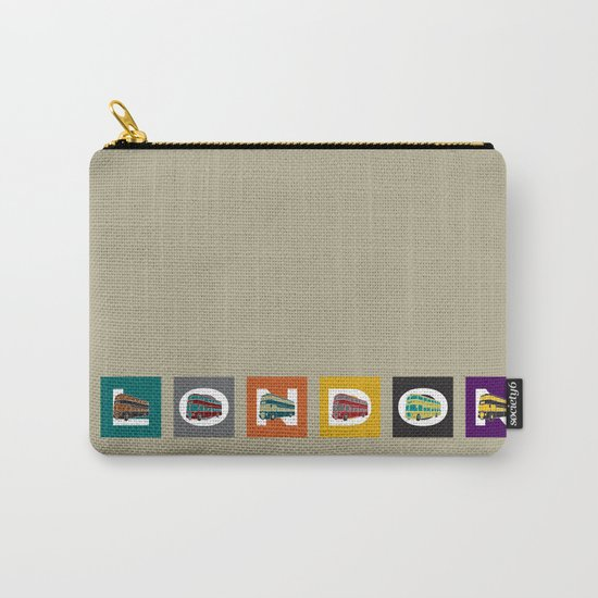 London Double Decker Carry-All Pouch