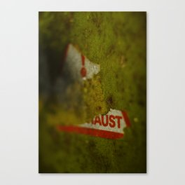 exhausted Canvas Print