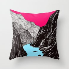 EnRoute Throw Pillow