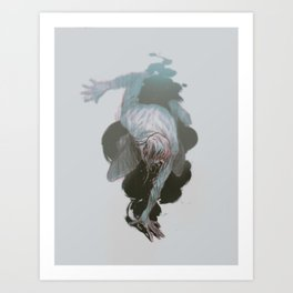 I'LL DROWN Art Print