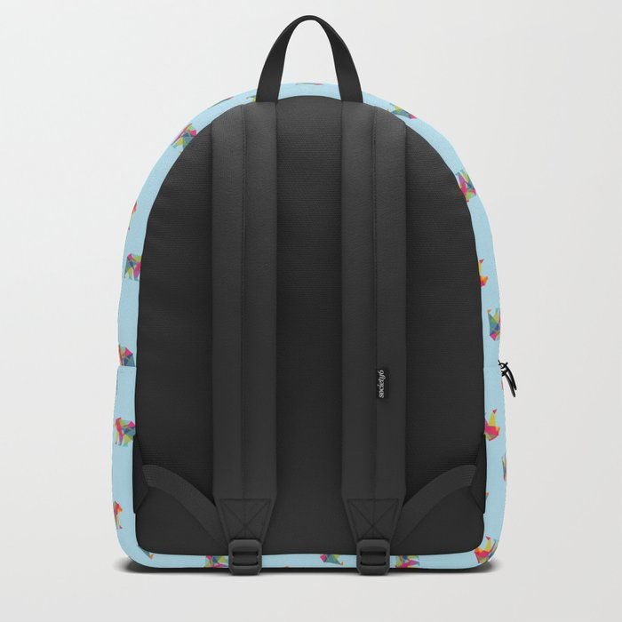Fractal Bear - neon colorways Backpack